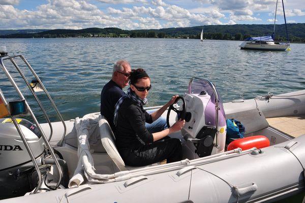 Motorbootausbildung