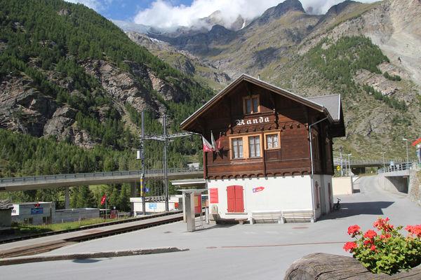Bahnhof Randa