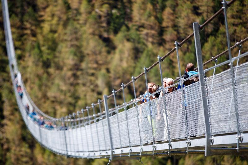 The Charles Kuonen Suspension Bridge | Zermatt, Switzerland