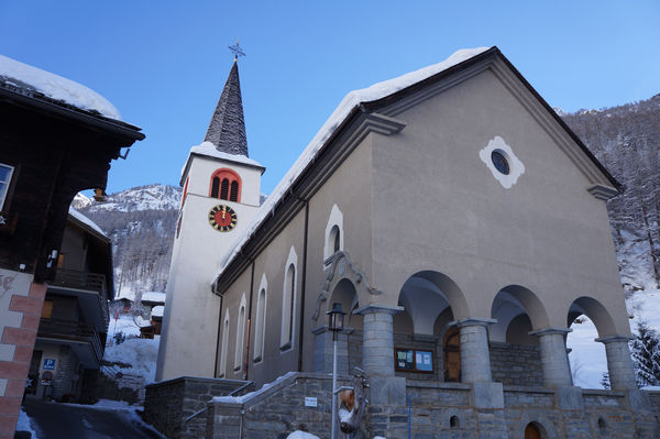 Die Sebastian-Kirche von Randa ist ein Barock-Bau von regionaler Bedeutung.