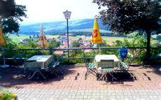 Blick vom Gasthof Zur schönen Aussicht