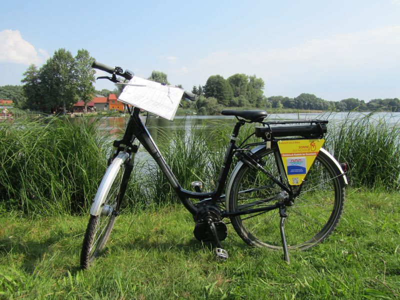 E-Bike im Seenland Oder-Spree, Foto: Sandra Ziesig