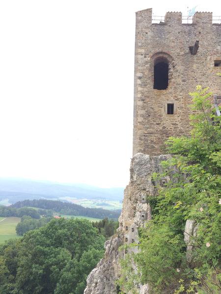 Wunderbarer Ausblick von der Burgruine Weißenstein