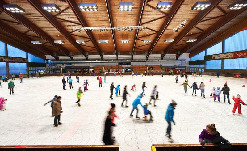 Eishalle in Regen