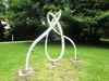 Gläserner Knoten im Kurpark Regen