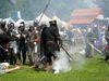 Kampf um Weißenstein beim Ritterspektakel