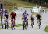 Biathlon mit Mountain-Bikes mit Schneider Events am Großen Arbersee