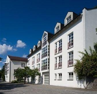 Blick auf das Tagungshaus Bayerischer Wald in der Kreisstadt Regen