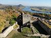 Blick ins Donautal von der Burgruine Donaustauf aus