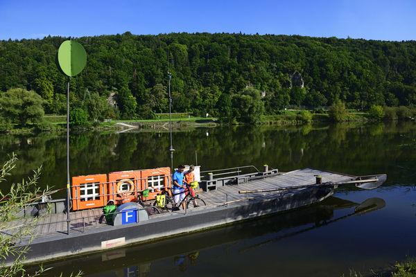 Die Donaufähre in Matting