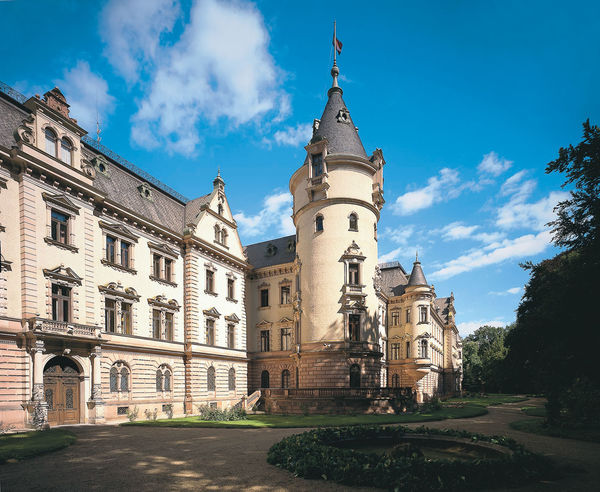 Südflügel Schloss Emmeram in Regensburg