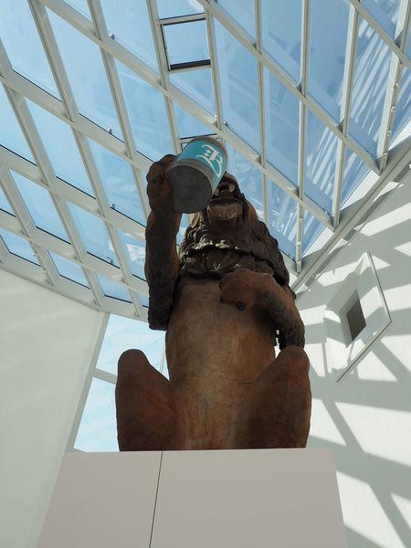 Der Löwe im Inneren des Museums der Bayerischen Geschichte