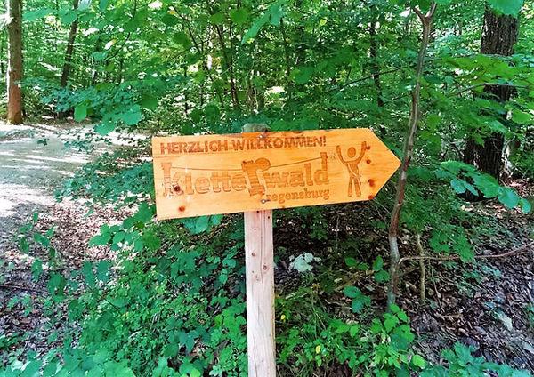 Hier geht´s zum Kletterwald
