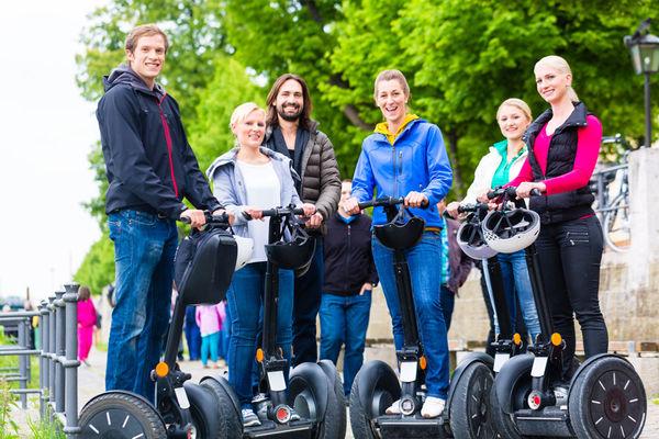 Die Segways sind in Regensburg auch für individuelle Touren oder Events buchbar