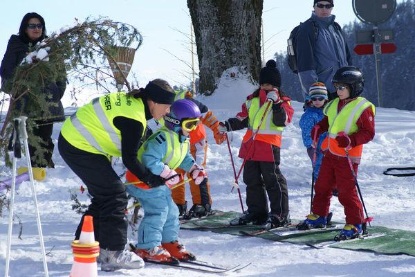 Skier au Balmberg