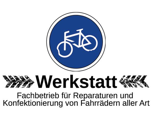 Logo Fahrradwerkstatt Schwarz