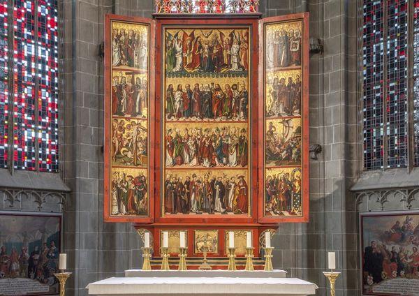 Münster St. Maria und Markus - Hochaltar