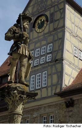 Maximilianbrunnen in Reutlingen