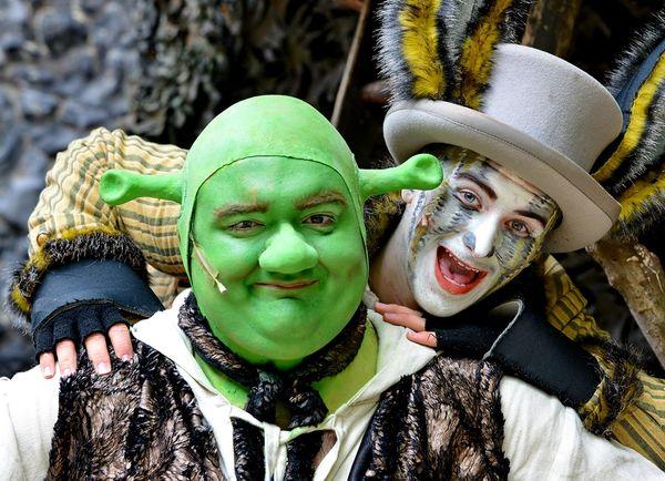 Aufführung Shrek