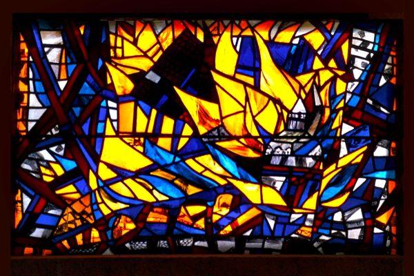 Kirche Rickenbach Kirchenfenster