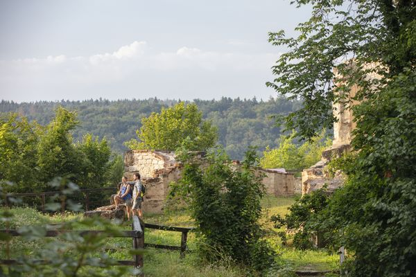 Burgruine Eggersberg bei Riedenburg im Altmühltal