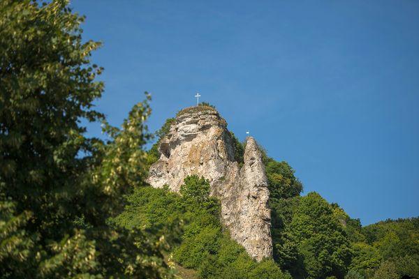 Burgruine Flügelsberg im Riedenburger Ortsteil Meihern im Altmühltal
