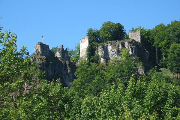 Burgruine Tachenstein in Riedenburg