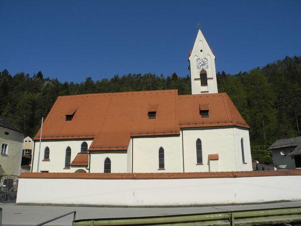 ehemalige Klosterkirche Altmühlmünster - heute Pfarrkirche St. Johann Baptist
