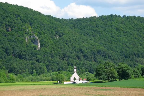 Kirche St. Agatha bei Riedenburg im Altmühltal