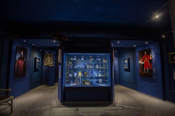 Diamantensammlung im Kristallmuseum Riedenburg