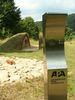 begehbarer Grabhügel und Hörpunkt in Riedenburg-Haidhof