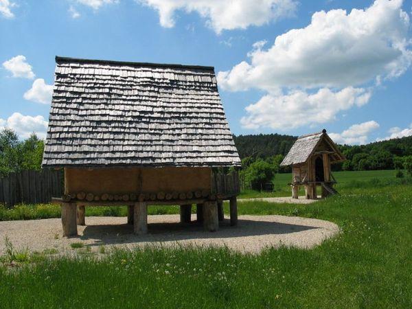 eisenzeitliches Gehöft in Riedenburg-Oberhofen