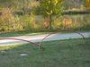 künstlerische Darstellung eines eisenzeitlichen Grabhügelfeldes in Riedenburg-Untereggersberg
