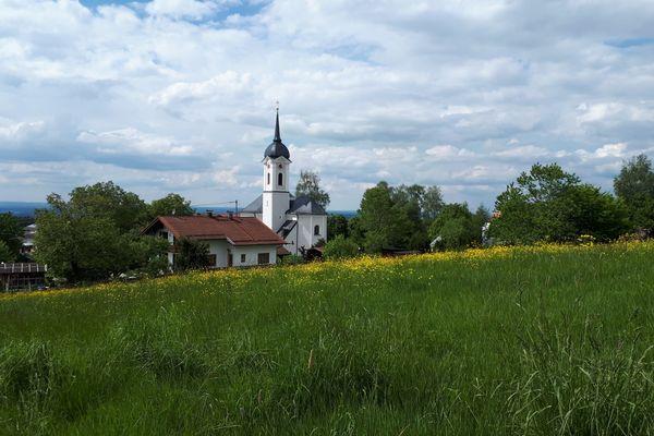 Pfarrkirche St. Rupert in Söllhuben-©Chiemsee-Alpenland Tourismus