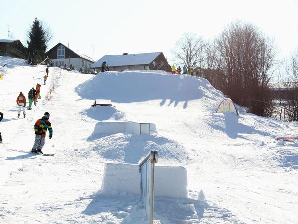 Am Skilift Reichenberg bei Riedlhütte ist es Ideal, das Skifahren zu erlernen