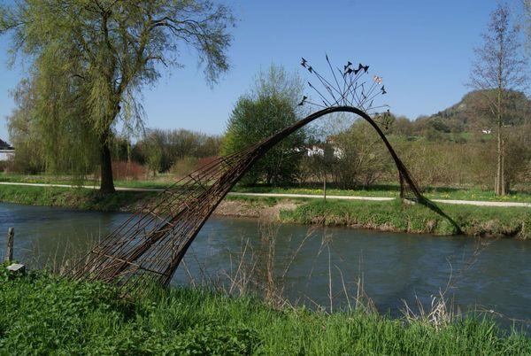 """""""Schmetterlingsbrücke"""" von Louis Perrin"""