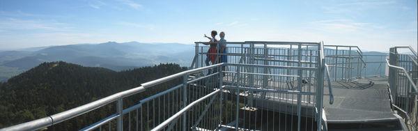 Panoramablick Richtung Osser