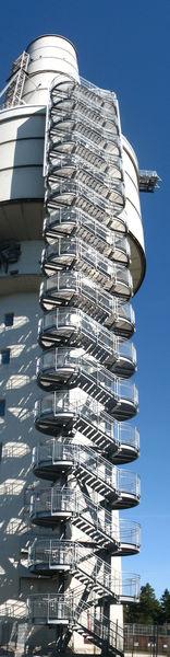Treppenturm Ansicht Süd