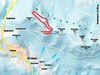 Streckenverlauf des Rundkurses ab Forstdiensthütte