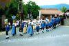 Der Trachtenverein dHohenbogner aus Rimbach bei einem Festzug