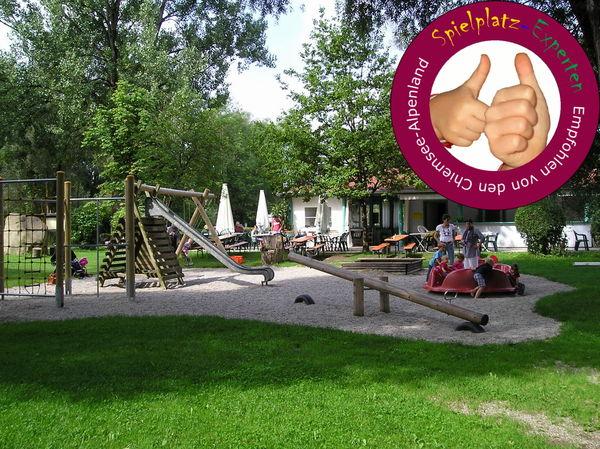 Spielplatz am Strandkiosk
