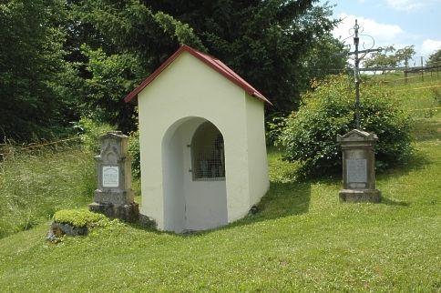 Blick auf die Hauserkapelle in Rinchnach