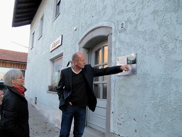Altes Gebäude am Historischen Rundweg im Klosterort Rinchnach