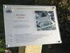 Infotafel am Pfarrhof auf dem Historischen Rundweg in Rinchnach