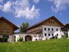 Blick auf den Schafhof Perl in Grub bei Rinchnach im ArberLand Bayerischer Wald