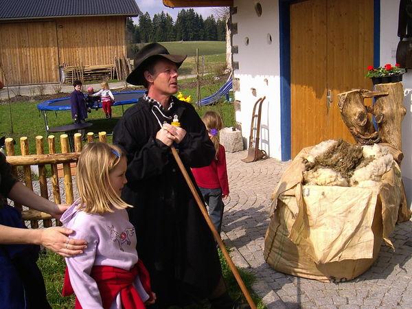 Alles über Schafe erfahren Sie auf dem Schafhof Perl in Grub bei Rinchnach