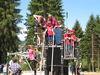 Buntes Treiben bei der Eröffnung des Fledermaus-Waldspielplatzes in Rinchnach
