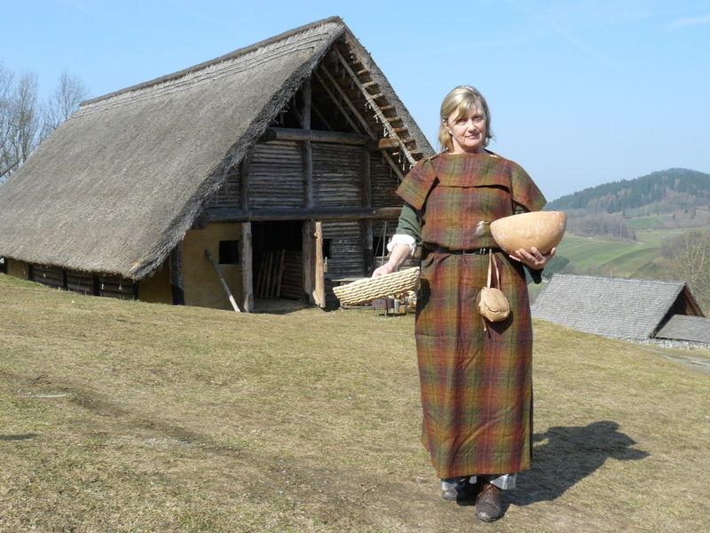 Leben wie in früheren Zeiten im Keltendorf Gabreta bei Ringelai