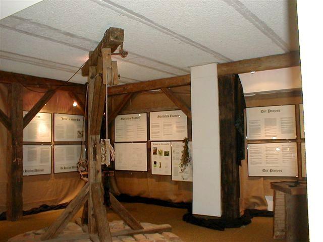 Galgen im Hexenmuseum in Ringelai im Nationalpark-FerienLand Bayerischer Wald
