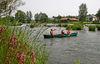 Kanuten bei Wiesing im Stadtgebiet von Roding